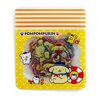 Japan Sanrio Pompompurin Summer Seal (clear)