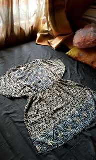Blouse Batik Via la