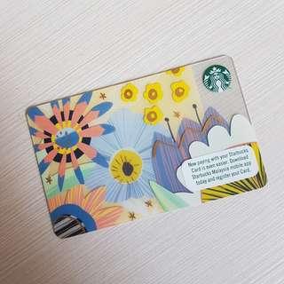 STARBUCKS CARD KUALA LUMPUR MALAYSIA (Sbucks Spring Edition 2018)