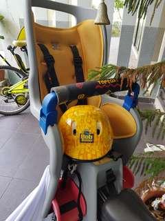 Topeak child seat bike