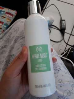 Hand body lotion the body shop