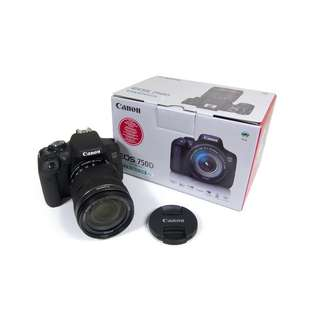 Kredit Canon eos 750D kit 18-135mm f3.5-5.6 IS STM WIFI tanpa kartu kredit