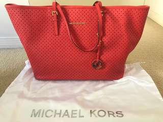 Michael Kors perforated bag