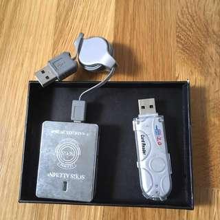 usb SD card readers (2)