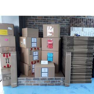 Carton Box Double Wall  Size (XL) 600mm X 480mm X 420mm  -10Boxes