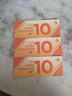 Nike Rm30 Cash Voucher