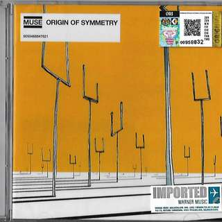 MUSE Origin of Symmetry Imported CD