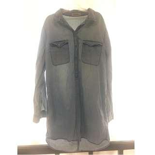 Terranova denim shirt dress