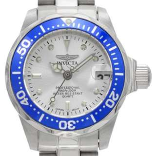 NOW only P2345! EVERYTHING IS 50% OFF LISTED PRICE!!! Seller returning to US, EVERYTHING MUST GO!!!! Invicta Women's 14125 Pro Diver Silver Dial Stainless Steel Watch