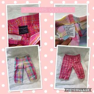 Pants 3-4 yearsold