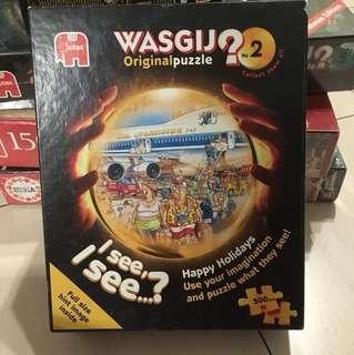 雷諾瓦 Wasgij puzzle 正版 Jumbo 拼圖 500pics