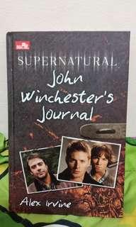 Supernaturan John Winchester's Journal by Alex Irvine