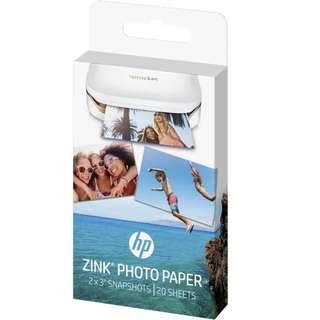 HP SPROCKET 相片打印機相紙最后 1 盒