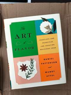 Art of Flavour: Practices and Principles for Creating Delicious Food (Daniel Patterson & Mandy Aftel)