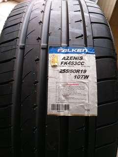 全新 日本大津輪胎 255/50-19 自取一條5300 不含安裝定位