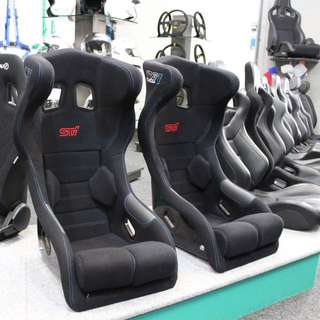 Subaru STI full head support seats