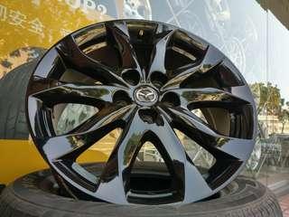Mazda3 18吋原廠鋁圈 馬5 馬6 MPV 5/114.3 4顆12000帶走