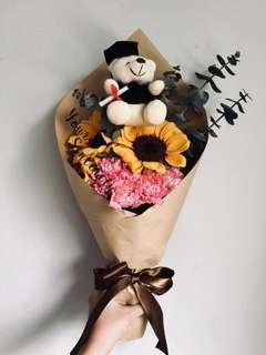🎓 Graduation bouquet // 🌻 Sunflower bouquet