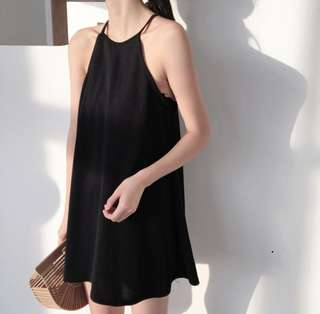 (PO) Ulzzang Halter Slip Dress