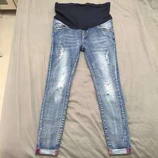 Straight Jeans Maternity Pants (new)