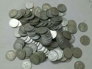 🔥Bulk Sales🔥 Straits KGV 10c. Silver