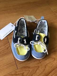 Girls Retro Boat Shoe