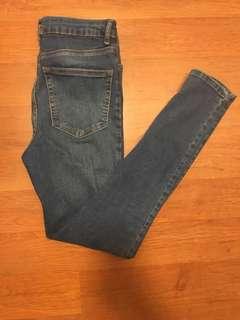 F21 high waisted jeans