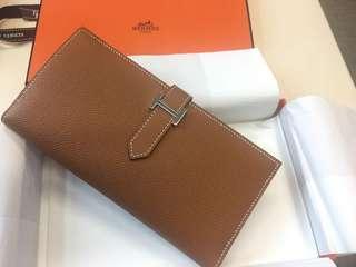 Hermes Bearn Long Wallet