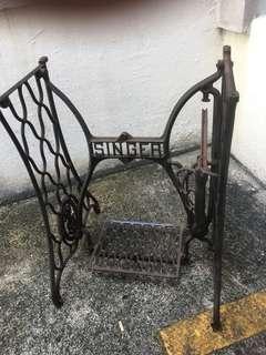 Vintage Singer stand