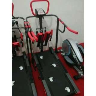 Treadmill Manual NEW TL-003AG Alat Olahraga Fitness Dirumah Murah