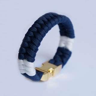 藍白款 情侶手繩 Rastaclat手繩
