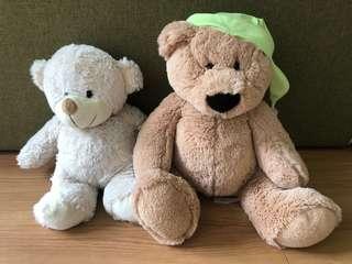 Teddy bear x 2
