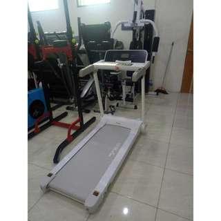 Alat Fitness Treadmill Elektrik 1 Fungsi 2 HP TL-128 Auto Incline Termurah