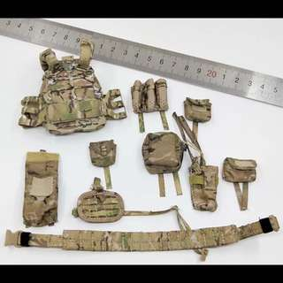 1/6 Scale MT010 Seal Team 6  Tactical Vest