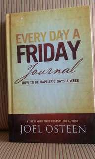 "Joel Osteen's "" Everyday Friday Journal"""