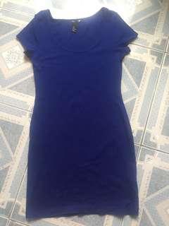H&M blue dress ( preloved )