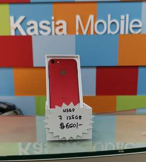 Used Iphone 7 128gb Red