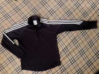 Adidas Black ClimaLite Pull-over