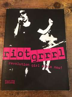 Riotgrrrl book