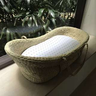 Organic Moses Basket Bundle
