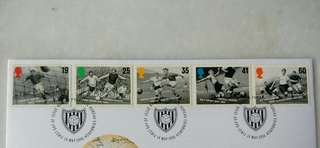 Great Britain UK England Football Legends Stamps & Special Postage #1