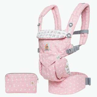 Ergobaby OMNI 360 All-In-One Baby Carrier (Limited Edition Hello Kitty) - PLAYTIME PINK