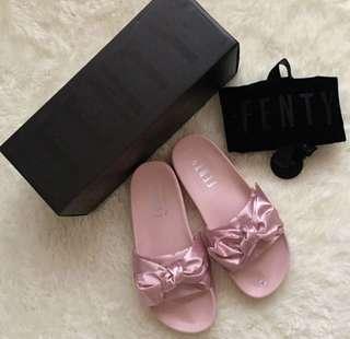 Sale!!! Puma Fenty Pink Bow Slide