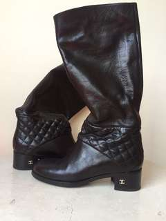Chanel Boots . Worn once