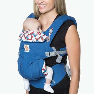 Ergobaby OMNI 360 All-In-One Baby Carrier (Limited Edition Hello Kitty) - CLASSIC BLUE