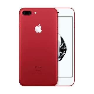 kredit iphone 7 plus 256GB new Red proses 3 menit bawa pulang