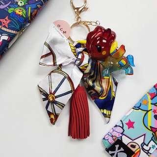 Tokidoki x Jujube Summer Fob Bag Charm / Keychain