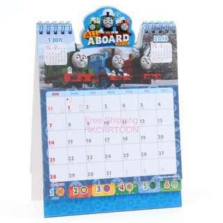 香港正版Thomas 2018年座枱曆 Calendar