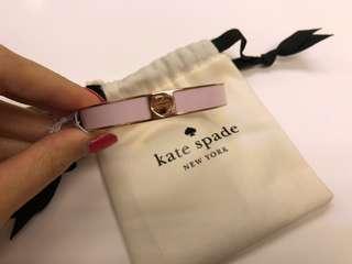 Kate Spade 粉紅色手鐲