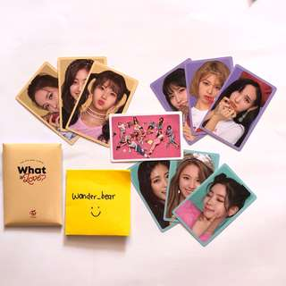 Photocard Set -Twice What is Love?